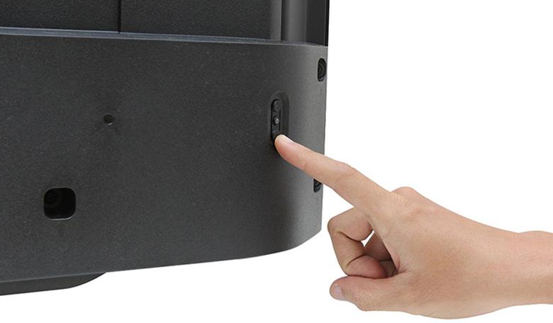 tắt chế độ Demo trên tivi Sony - nút home trên tivi