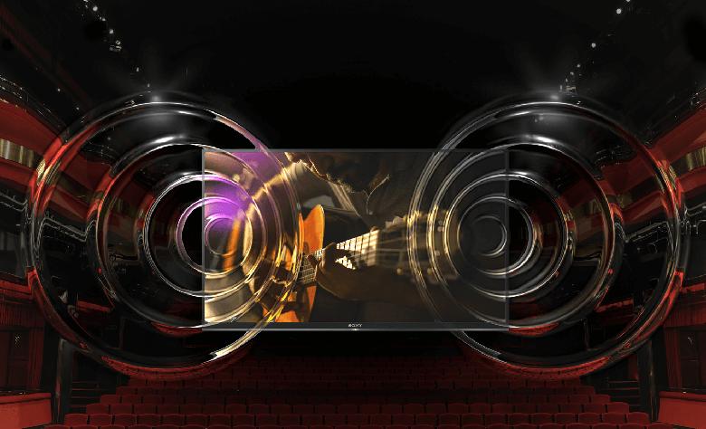 tivi Sony 43W660G công nghệ âm thanh sống động