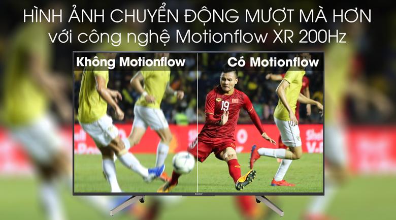 Tivi Sony 49W800G công nghệ Motionflow XR