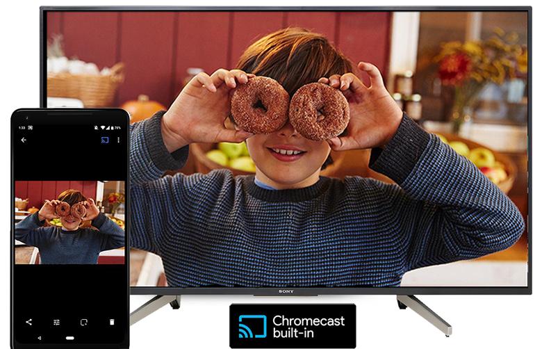 Tivi Sony 49W800G tích hợp Chromecast built-in