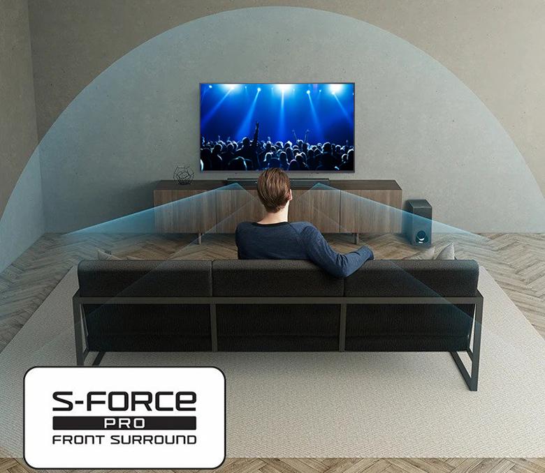 Tivi Sony 49W800G công nghệ âm thanh sống động