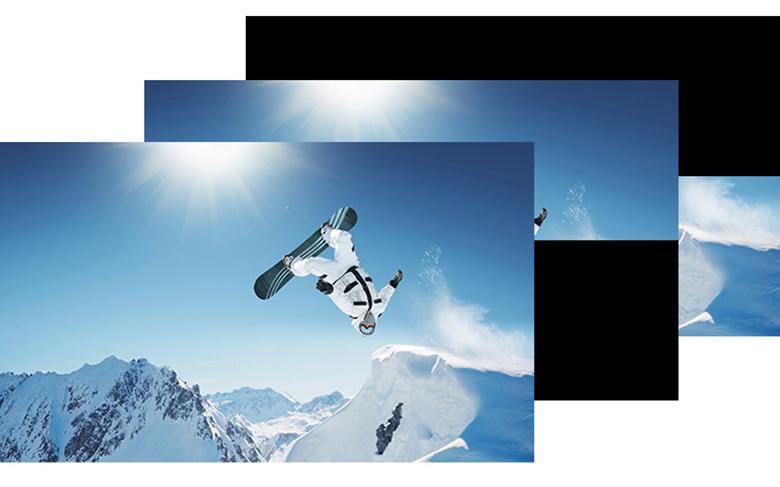 tivi sony 32W610F với Motionflow XR tạo hình ảnh mượt mà cho những cảnh chuyển động nhanh