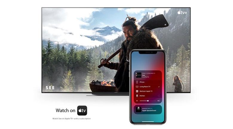 Chiếu màn hình điện thoại lên tivi - Android Tivi Sony 4K 65 inch KD-65X8050H