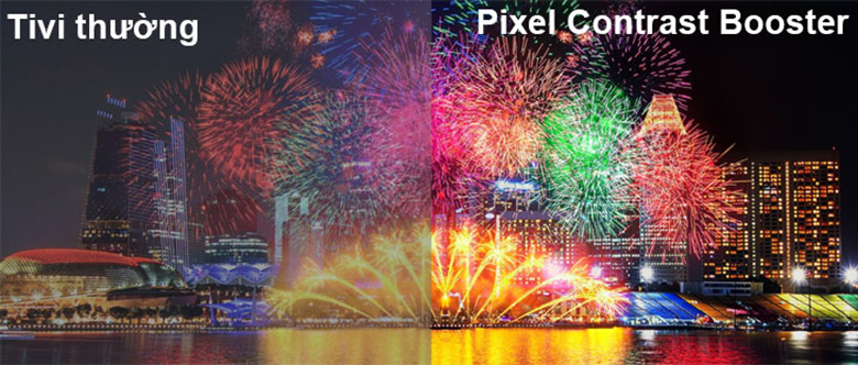 công nghệ Pixel Contrast Booster với tivi Sony OLED 55A9F