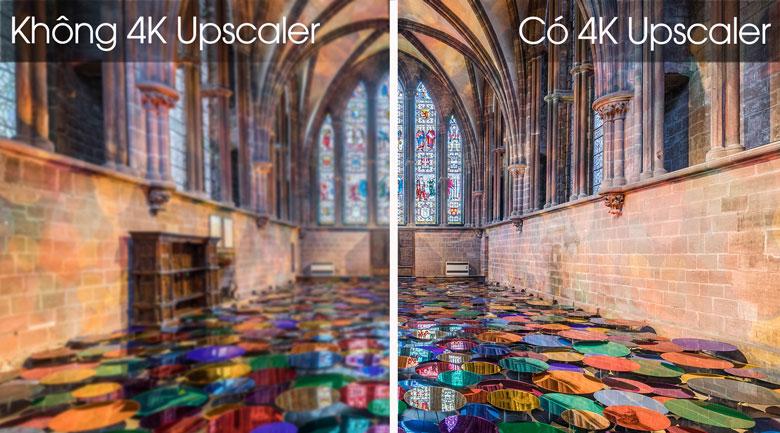 Công nghệ 4K Upscaler nâng cấp hình ảnh chất lượngTV LG 4K 65UN7400PTA