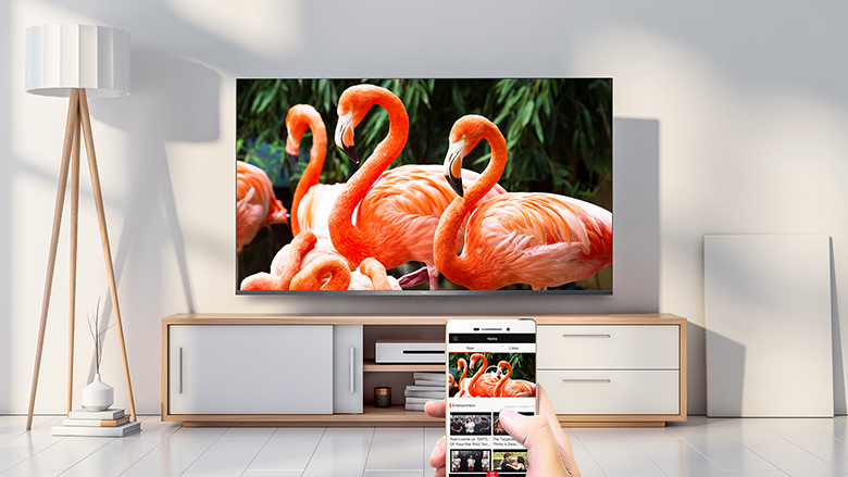 MagiConnect - Android QLED Tivi TCL 4K 55 inch 55C715