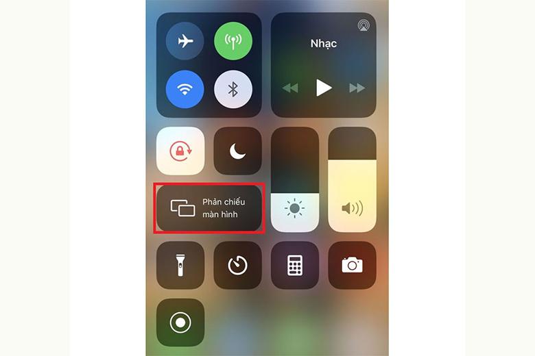 kết nối iphone với tivi LG qua AirPlay2bước 4