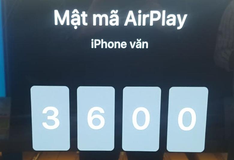 kết nối iphone với tivi LG qua AirPlay2bước 6