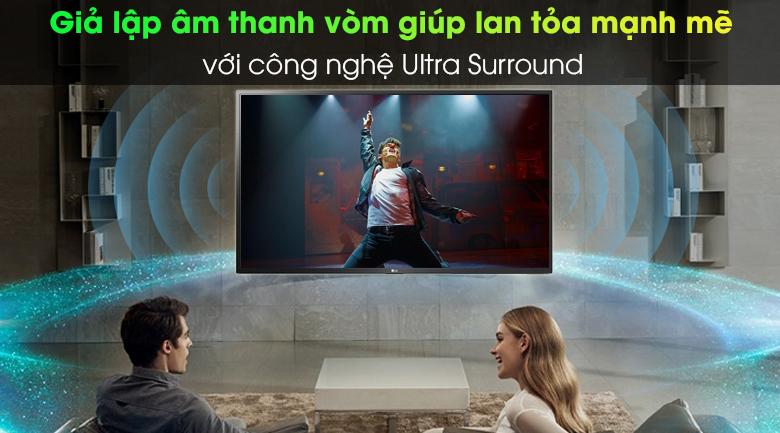 Âm thanh vòm sống động - Smart Tivi LG 4K 49 inch 49UN7400PTA