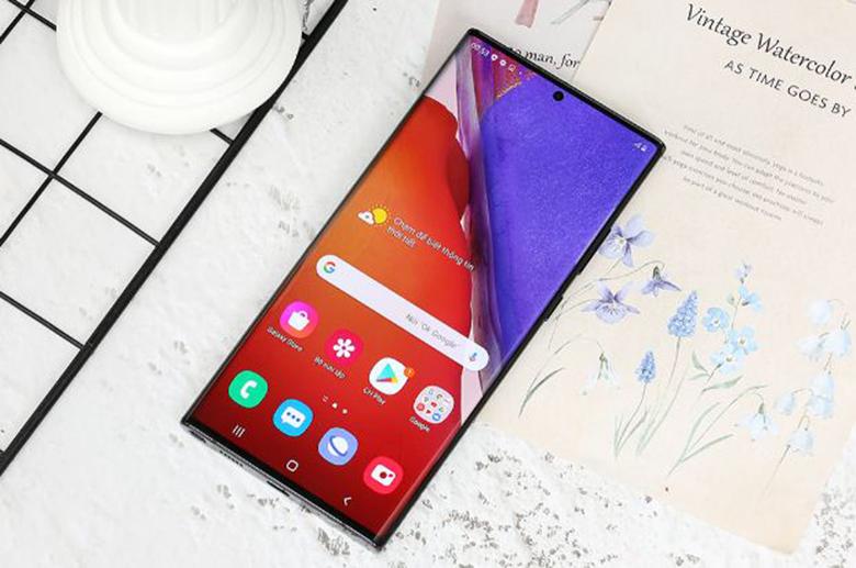 màn hình-Điện thoại Samsung Galaxy Note 20 Ultra 8GB/256GB Đen