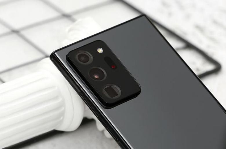 camera sau-Điện thoại Samsung Galaxy Note 20 Ultra 8GB/256GB Đen
