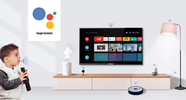 Trợ lý ảo Google Assistant - Chức năng điều khiển tivi Panasonic TH-43GX655V bằng giọng nói
