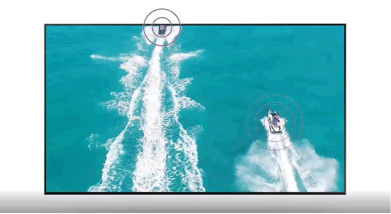 Âm thanh chuyển động cùng hình ảnh giúp người dùng trải nghiệm tuyệt vời