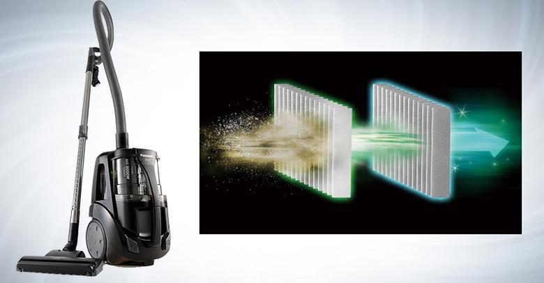 Máy hút bụi Panasonic MC-CL575KN49 có bộ lọc HEPA kép