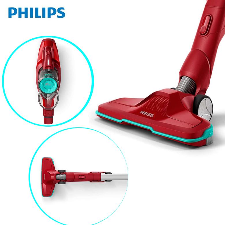 Máy hút bụi không dây Philips FC6721 đầu hút thu gom bụi hiệu quả