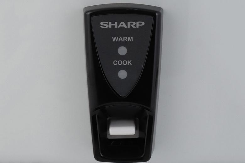 Bảng điều khiển-Nồi cơm điện Sharp 5 lít KSH-D55V (W)