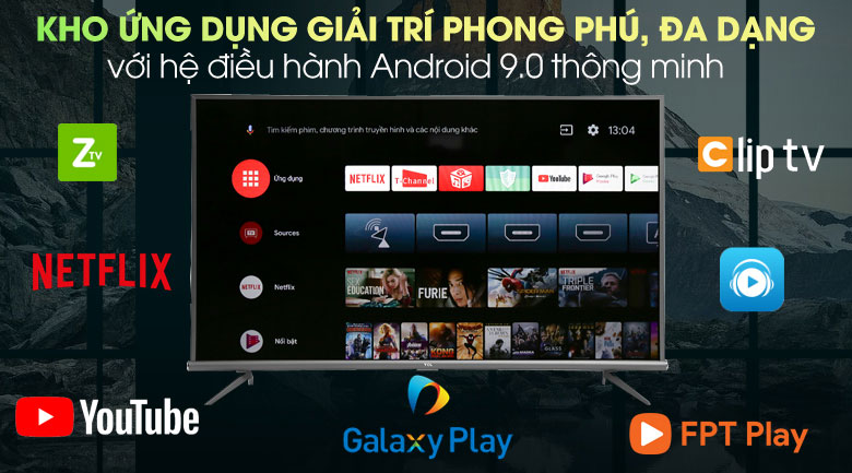 Hệ điều hành Android TVPanasonic 43GX655V