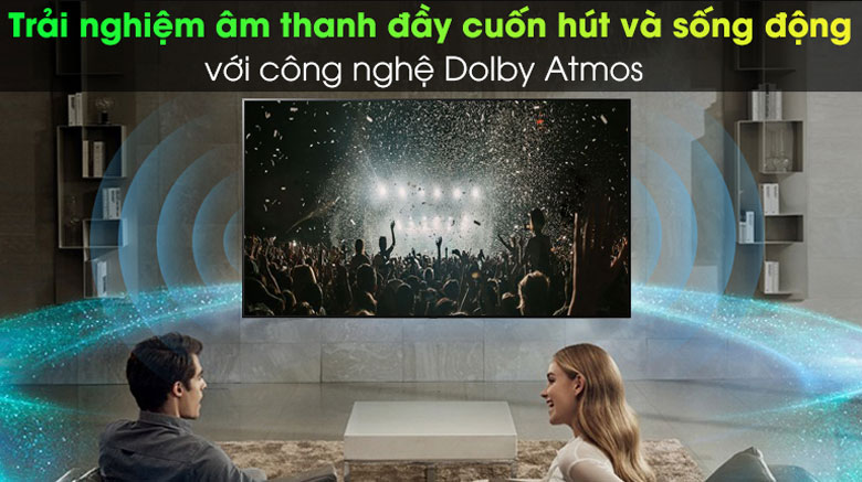 Công nghệ Dolby Atmos - Android Tivi Sony 4K 75 inch KD-75X9000H