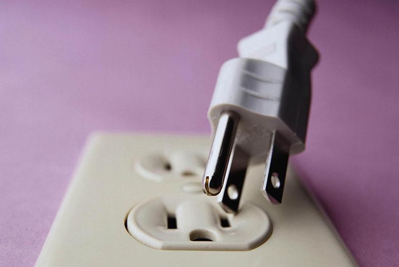 Máy giặt đang giặt bị ngừng do sự cố về nguồn điện
