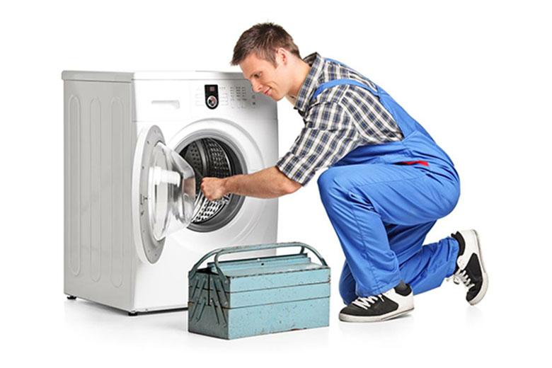 Máy giặt đang giặt bị ngừng do linh phụ kiện bên trong