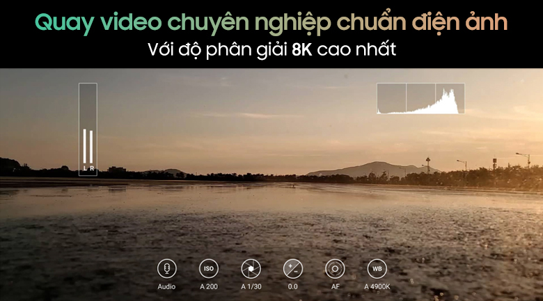 quay video-điện thoại Samsung Galaxy Note 20 8GB/256GB đồng