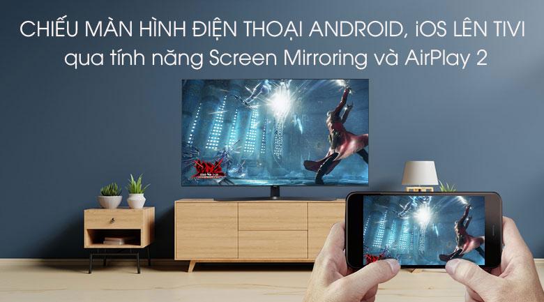 Chiếu màn hình điện thoại lên Tivi Sony 49X8050H