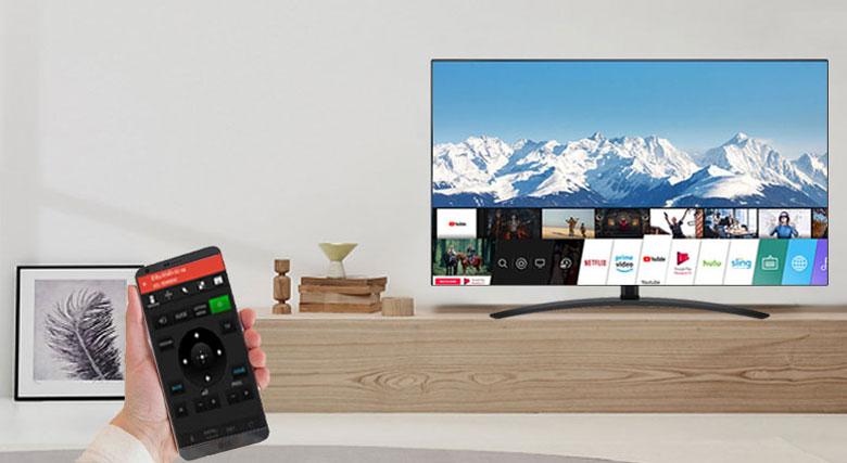 Điều khiển Android Tivi Sony 49X8050H bằng điện thoại