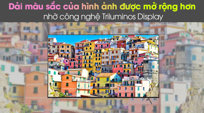 Công nghệ Triluminos - Android Tivi Sony 4K 65 inch KD-65X9000H/S