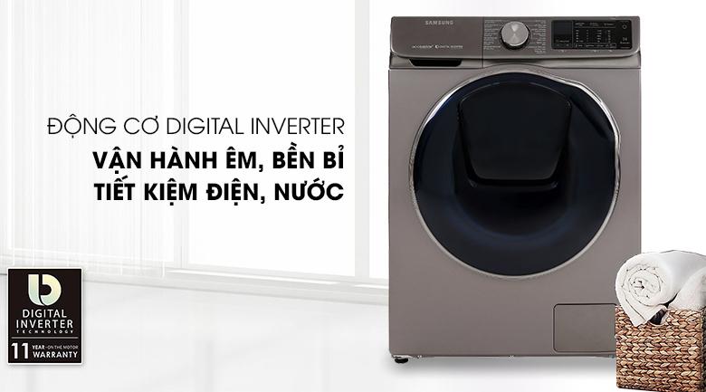 Digital Inverter-Máy giặt sấy Samsung Inverter 10.5 kg WD10N64FR2X/SV