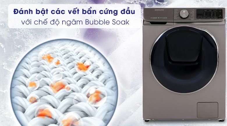 Bubble Soak-Máy giặt sấy Samsung Inverter 10.5 kg WD10N64FR2X/SV