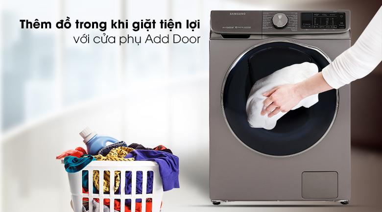 Add Door-Máy giặt sấy Samsung Inverter 10.5 kg WD10N64FR2X/SV
