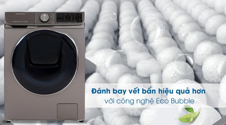 Eco Bubble-Máy giặt sấy Samsung Inverter 10.5 kg WD10N64FR2X/SV