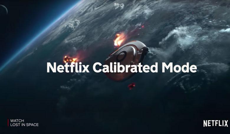 tivi Sony 55X9000H/S với chất lượng phòng thu với Netflix Calibrated Mode