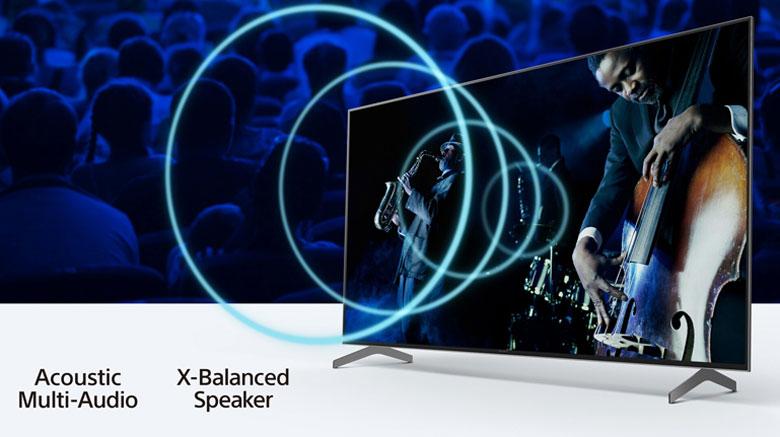 Công nghệ âm thanh chất lượng -Android Tivi Sony 4K 75 inch KD-75X9000H