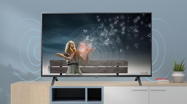 Smart Tivi LG 4K 55 inch 55UN7000PTA âm thanh sống động với loa công suất 20w