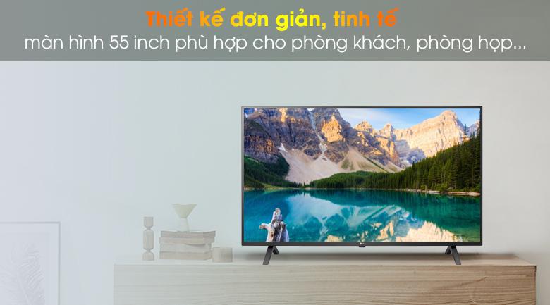 Smart Tivi LG 4K 55 inch 55UN7000PTA thiết kế tinh tế