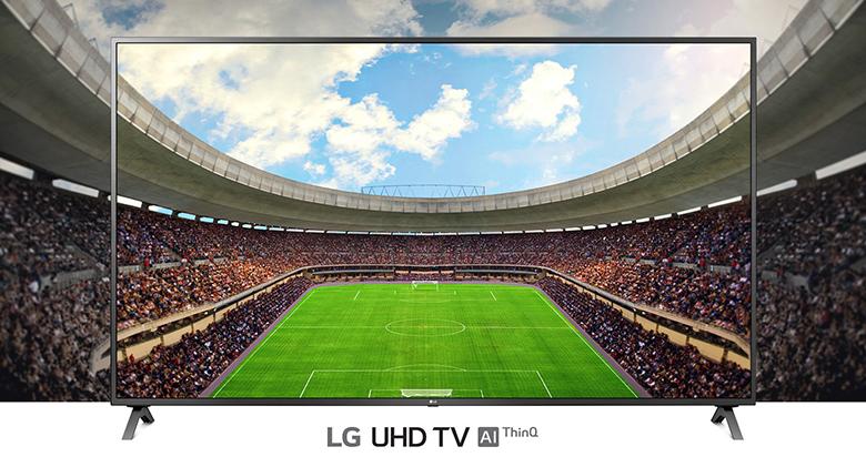 Độ phân giải 4K - Smart Tivi LG 4K 55 inch 55UN7350PTD