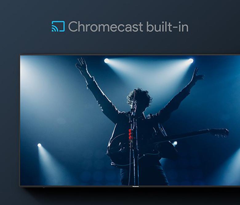 Trình chiếu màn hình điện thoại lên tivi - Android Tivi Panasonic 4K 65 inch TH-65GX755V