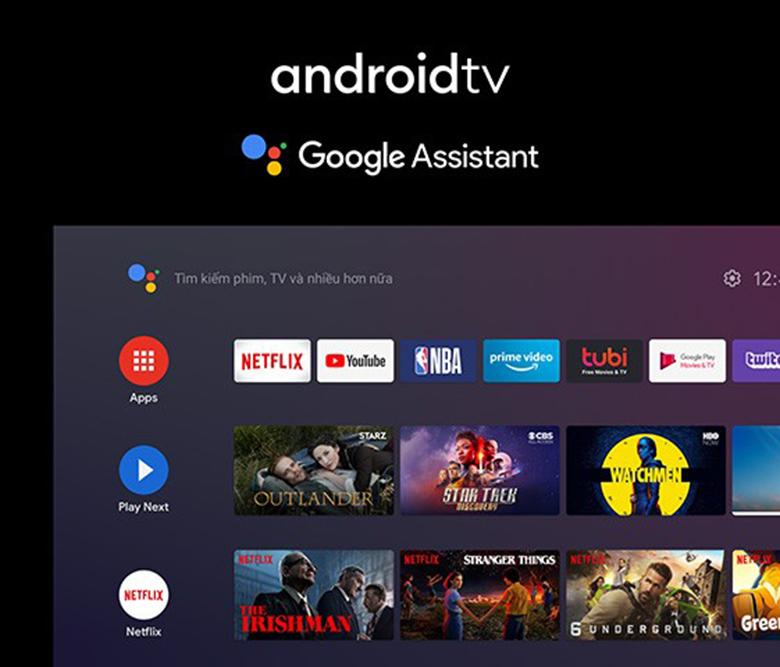 Hệ điều hành Android - Android Tivi Panasonic 4K 65 inch TH-65GX755V