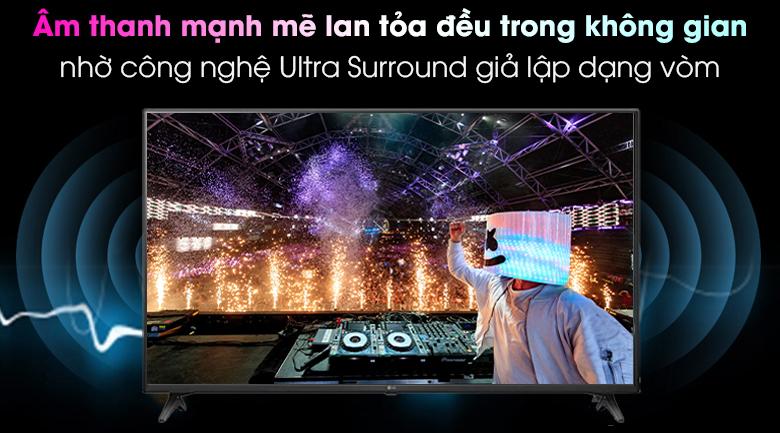 Smart Tivi LG 4K 50 inch 50UN7350PTD công nghệ Ultra surround