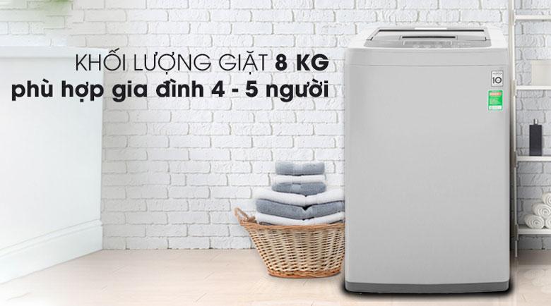 Máy giặt cửa trên loại nào tốt: Máy giặt cửa trên LG T2108VSPM2