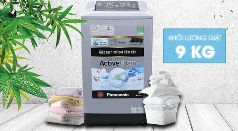 Máy giặt cửa trên loại nào tốt: Máy giặt cửa trên Panasonic NA-F90A4GRV