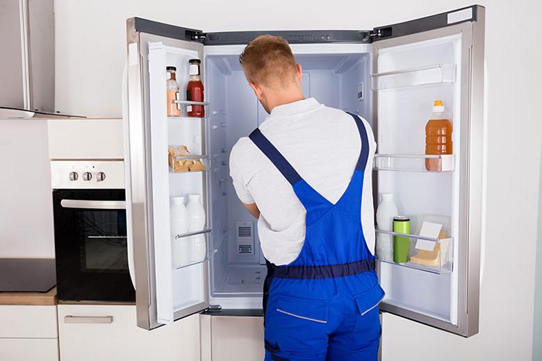 Tắc ống dẫn hơi lạnh dẫn đến tủ lạnh ko đông đá