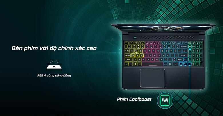 Bàn phím-Laptop Gaming Acer Predator PH315-53-770L