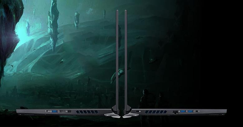 Cổng kết nối-Laptop Gaming Acer Predator PH315-53-770L