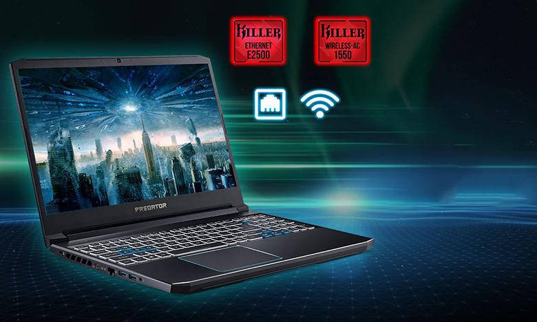 Kết nối không dây-Laptop Gaming Acer Predator PH315-53-770L