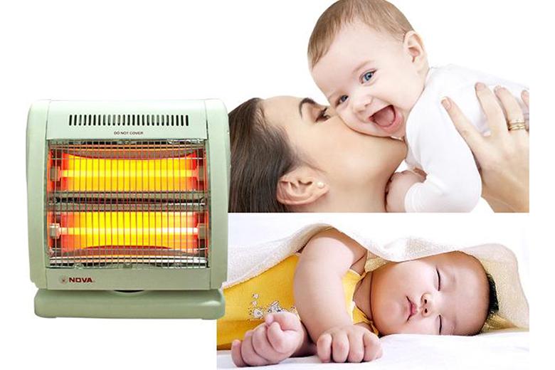 [chỌn mua] máy sưởi Ấm cho trẻ sơ sinh an toàn - Đúng cách