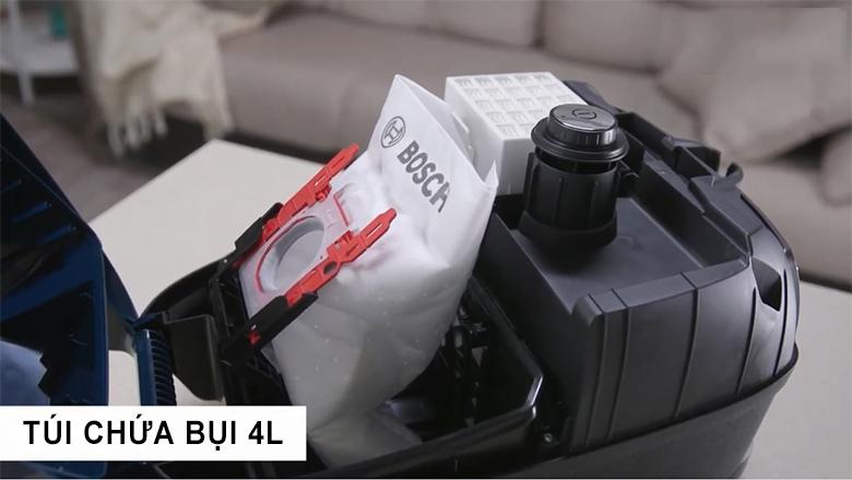 Máy hút bụi Bosch BGLS42035 CÓ TÚI CHỨA BỤI 4L