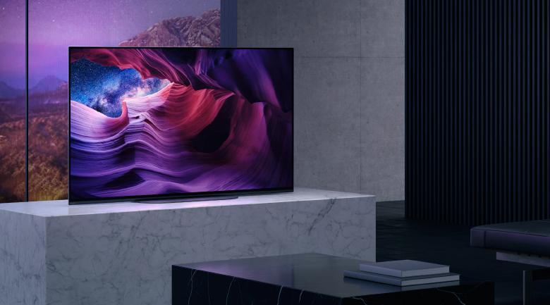 Khung viền siêu mỏng - Android Tivi OLED Sony 4K 48 inch KD-48A9S