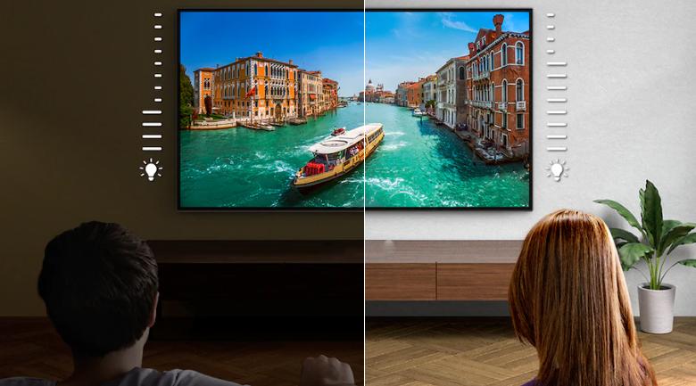 Công nghệ điều chỉnh độ sáng - Android Tivi OLED Sony 4K 48 inch KD-48A9S